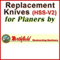 Replacement Blades (HSS) for Planers by Northfield