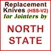 Replacement HSS-V2 Knives for Jointers by North State