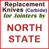 Replacement Carbide Knives for Jointers by North State