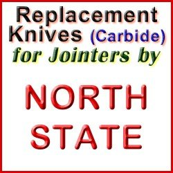 Replacement Blades (Carbide) for Jointers by North State