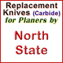 Replacement Blades (Carbide) for Planers by North State