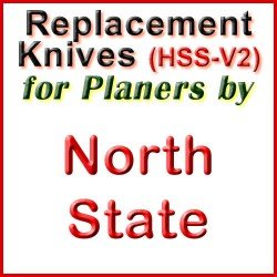 Replacement HSS-V2 Knives for Planers by North State