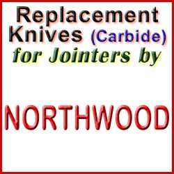 Replacement Blades (Carbide) for Jointers by Northwood
