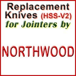 Replacement HSS-V2 Knives for Jointers by Northwood