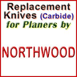Replacement Blades (Carbide) for Planers by Northwood