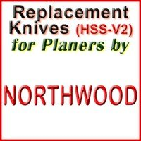 Replacement HSS-V2 Knives for Planers by Northwood