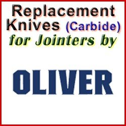 Replacement Blades (Carbide) for Jointers by Oliver