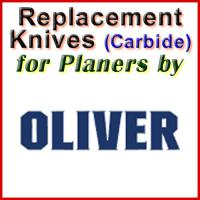 Replacement Carbide Knives for Planers by Oliver