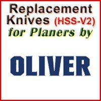 Replacement Blades (HSS) for Planers by Oliver