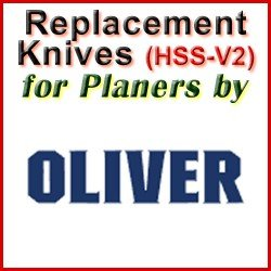 Replacement HSS-V2 Knives for Planers by Oliver