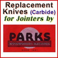 Replacement Blades (Carbide) for Jointers by Parks
