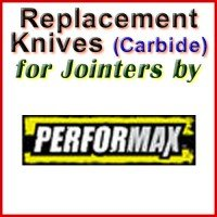 Replacement Carbide Knives for Jointers by Performax