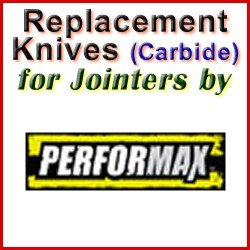 Replacement Blades (Carbide) for Jointers by Performax