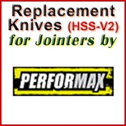 Replacement Blades (HSS) for Jointers by Performax