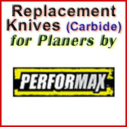 Replacement Blades (Carbide) for Planers by Performax