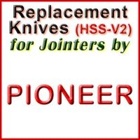 Replacement Blades (HSS) for Jointers by Pioneer