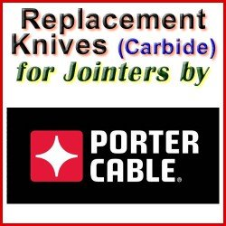 Replacement Blades (Carbide) for Jointers by Porter Cable