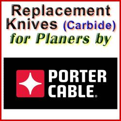 Replacement Blades (Carbide) for Planers by Porter Cable