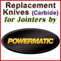 Replacement Carbide Knives for Jointers by Powermatic