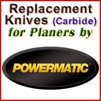Replacement Carbide Knives for Planers by Powermatic