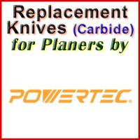 Replacement Blades (Carbide) for Planers by Powertec