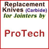 Replacement Carbide Knives for Jointers by ProTech