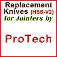 Replacement Blades (HSS) for Jointers by ProTech