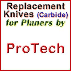 Replacement Blades (Carbide) for Planers by ProTech