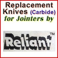 Replacement Blades (Carbide) for Jointers by Reliant