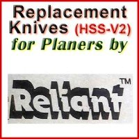 Replacement Blades (HSS) for Planers by Reliant