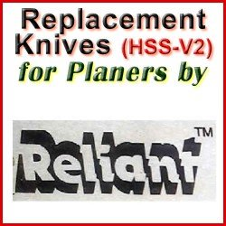 Replacement HSS-V2 Knives for Planers by Reliant