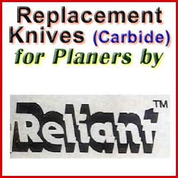 Replacement Blades (Carbide) for Planers by Reliant