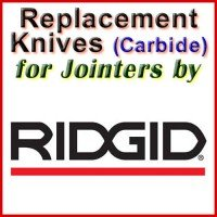 Replacement Carbide Knives for Jointers by Ridgid