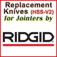 Replacement HSS-V2 Knives for Jointers by Ridgid