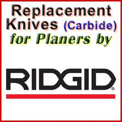 Replacement Blades (Carbide) for Planers by Ridgid