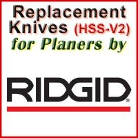 Replacement Blades (HSS) for Planers by Ridgid