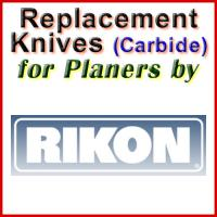 Replacement Carbide Knives for Planers by Rikon