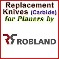 Replacement Blades (Carbide) for Planers by Robland