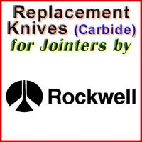 Replacement Carbide Knives for Jointers by Rockwell
