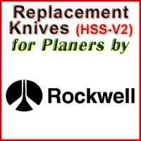 Replacement HSS-V2 Knives for Planers by Rockwell