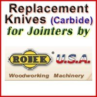 Replacement Blades (Carbide) for Jointers by Rojek