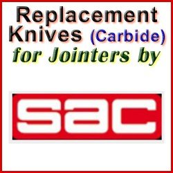 Replacement Blades (Carbide) for Jointers by SAC