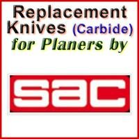 Replacement Carbide Knives for Planers by SAC