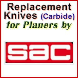 Replacement Blades (Carbide) for Planers by SAC