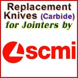 Replacement Blades (Carbide) for Jointers by SCMI