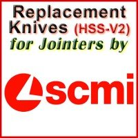 Replacement HSS-V2 Knives for Jointers by SCMI