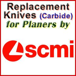 Replacement Blades (Carbide) for Planers by SCMI