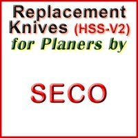 Replacement Blades (HSS) for Planers by Seco
