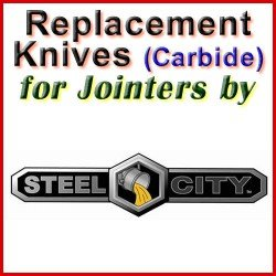 Replacement Blades (Carbide) for Jointers by Steel City