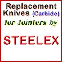 Replacement Blades (Carbide) for Jointers by Steelex